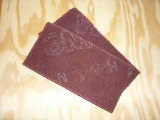 2St. Schleifvlies  3M Handpad Polieren Schleifen Edelstahl  Metall Holz  rot