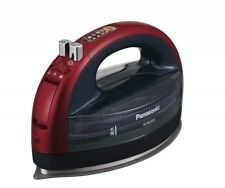 Panasonic Cordless Steam W Head Iron Red NI-WL603-R AC100V USED