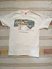 NWT Falling Water Museum T shirt M Frank Lloyd Wright 2007 Architecture