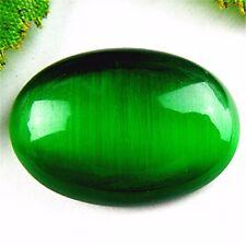25x18x5mm Beautiful oval Cat Eye stone CAB cabochon DIY SM14-25