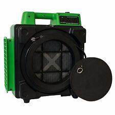XPOWER X-2480A Professional Mini HEPA Air Purifier Air Scrubber 3 Filters- Green