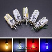 G4 3W 3 watt 48LED SMD 3014 LED  white Red Green Blue Light Bulb DC AC/DC 12V