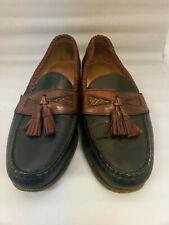 ALLEN EDMONDS MAXFIELD Brown Black Tassel Loafer Men's Size 8.5 D FREE SHIPPING