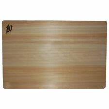 New Shun Hinoki Wood Cutting Board 12x18 DM0807 Knife Cedar Sushi Sashimi Japan