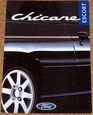 1997 FORD ESCORT CHICANE 1.6i 16v Sales Brochure - Limited Edition Model