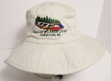 Duggan's Canoe Livery Hat Cap Bucket Floppy Harrison Michigan USA Embroidery New