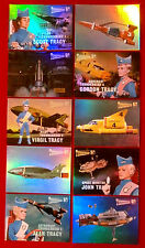 THUNDERBIRDS 50 Years - COMPLETE CHASE SET of 10 Mirror Foil Cards 2015