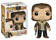 Funko Pop TV The Walking Dead Rick Grimes Vinyl Figure Collectible Toy #306
