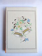 Otagiri Japan Design Metal Cover Wedding Bells Birds Wedding Guest Book
