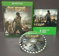 Dead Rising 3 Horror  - Microsoft Xbox One Game - Tested ! XBOX 1