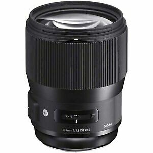 135mm F1.8 SIGMA ART DG HSM PRIME LENS for NIKON NEW in FACTORY BOX,COVER & CASE