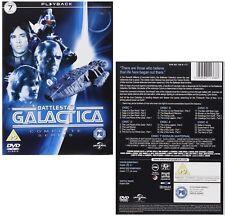 BATTLESTAR GALACTICA (1978-1979) COMPLETE ORIGINAL TV Series Reg2/4 DVD not US