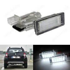 LED Licence Number Plate Light Renault Scenic Espace Modus (Fit Dacia)8200013577