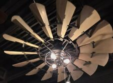 """The Windmill Fan"" Quorum 72"" Windmill Indoor Ceiling Fan- Now in stock!"