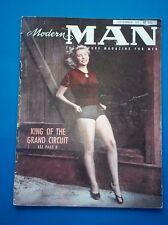 Modern Man Magazine December 1951 Vol. 1 No. 4 BETTY PAGE