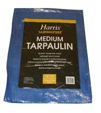 Harris Medium Tarpaulin 12'x9' Rip Proof Lightweight
