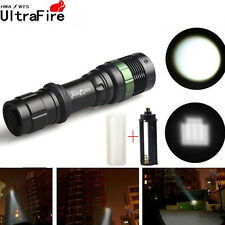 Ultrafire Military 30000LM 3Mode Zoomable Focus T6 LED 18650 Flashlight Torch