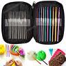 22 pcs Crochet Hooks Yarn Knitting Multi Colour Needles 0.6MM - 6.5MM Craft Kit
