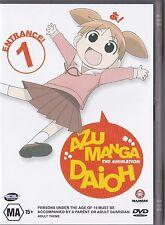 Azumanga Daioh Volume 1 Entrance DVD Anime Excellent Condition FREE POSTAGE