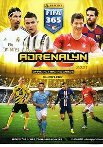 Panini FIFA 365 2020-2021 Adrenalyn XL card no. 201-398