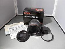 Sigma DC 18-200mm f/3.5-6.3 OS Lens Canon