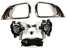 *NEW* FOG LIGHT KIT DRIVING SPOT LAMP SET for NISSAN NAVARA D23 NP300 2015 - ON
