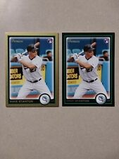 2010 MIKE GIANCARLO STANTON RC BOWMAN LOT GOLD /BLACK NY YANKEES MARLINS ROOKIE