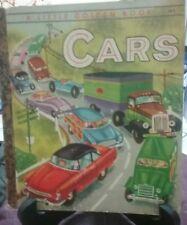 Rare CARS Little Golden Book (First Australian Edition) G/C