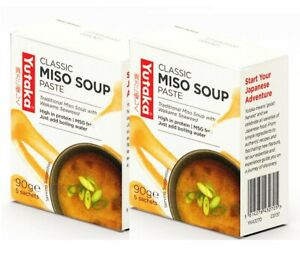 Yutaka Wakame Miso Soup 5 Sachets (Pack of 2)