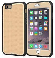 roocase Apple iPhone 6/6S Plus VersaTough Case, Fossil Gold