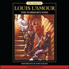 Louis L'Amour WARRIOR'S PATH Unabridged CD *NEW*$25.95 Value FAST 1st Class Ship