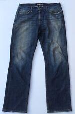 LUCKY BRAND Mens Jeans 329 Classic Straight Medium Wash Sz 34 X 32