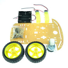 2WD 1:48 2 Motor Smart Robot Car Chassis Kit / Speed Encoder Battery Box Arduino