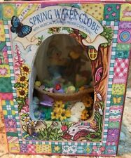 Spring Water Globe Easter Peter Cottontail Music 18 Note Egg Shaped 100ml
