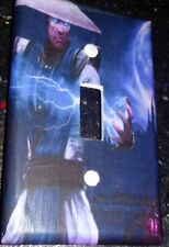 Custom Handmade Mortal Kombat Raiden Single Toggle Light Switch Cover