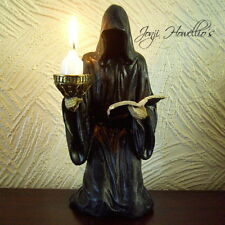 GRIM REAPER Figurine Ornament Candle Holder Gothic Pagan Wiccan Fantasy Myth