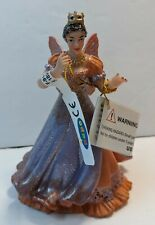 "Papo Queen of Elves Princess Fairy Plastic Figurine 4"" Tall Peach/Lavender Nwt"