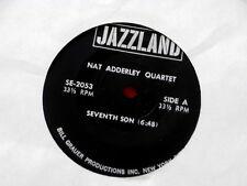 NAT ADDERLEY QUARTET~ COMPACT 33~ RARE~ SEVENTH SON~ IMAGES~OLEO~ VG++~ JAZZ 45