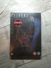 ALIENS (1986) - STEELBOOK Definitive Edition 2 Disc Region 2 - New & Sealed
