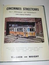 CINCINNATI STREETCARS #7 Progress & Prosperity PHOTOS Curved Side Cars Maps