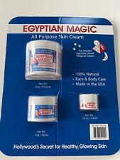 Egyptian Magic 100% Natural All Purpose Skin Cream 4 + 1 + 0.25 Oz - MADE IN USA