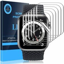LK Protector de Pantalla Compatible con Apple Watch 44mm / 42mm Series 5/4, [6