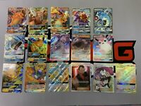 Pokémon TCG Hidden Fates Ultra Rare Full Art Complete Lot Of 16 Charizard Mewtwo