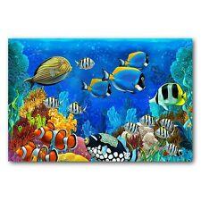 Fashion Tropical Fish Doormat Room Entrance Mat Bathroom Anti-Slip Rug Carpets
