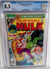 Incredible Hulk King-Size Annual 6 CGC 8.5 1977 Dr Strange & 1st App Paragon Her