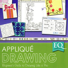 EQ WITH ME APPLIQUE DRAWING EQ7 Software Electric Quilt Block Design NEW BOOK
