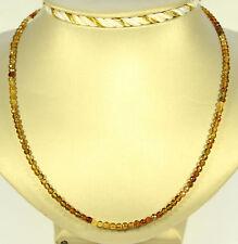 Tourmaline Necklace Precious Stone Faceted dravit color gradient