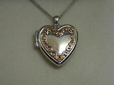 Clogau Sterling Silver & 9ct Rose Welsh Gold One Locket RRP £239.00