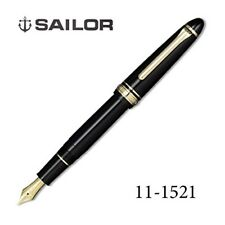 Sailor Profit 1911 Standard21 MF (M-Fine) nib Black (BK) 21k fountain pen