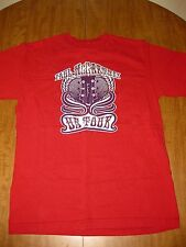 PAUL McCARTNEY med T shirt 2005 tour Beatles tee psychedelic guitar logo